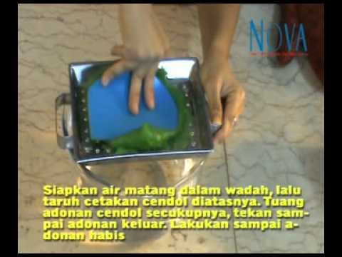 Video Resep Es Cendol www.tabloidnova.com