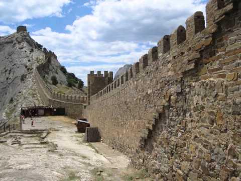 экскурсия по генуэзской крепости судак видео