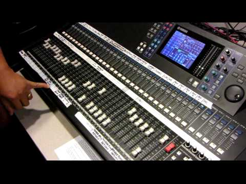 Yamaha Digital Mixing Console LS9-32 Tutorial by Haniel Trisna p2of3