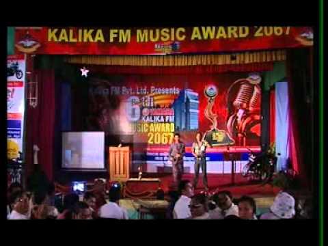 Raju pariyar...... @kalika fm music award 2067