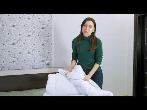 "Одеяло антиал №075 ""EcoSilk"" Hand Made Зимнее Микросатин"