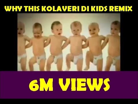 Why this Kolaveri Di Song Remix (dance by kids)