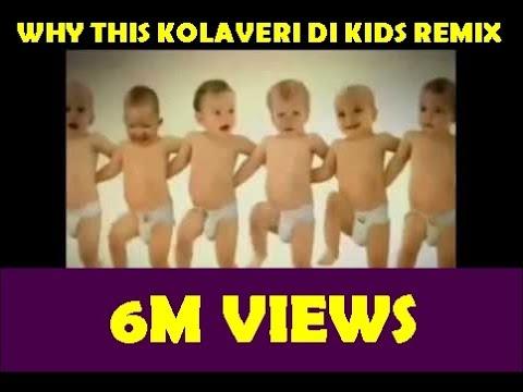Why this Kolaveri Di Song Remix (dance by kids)