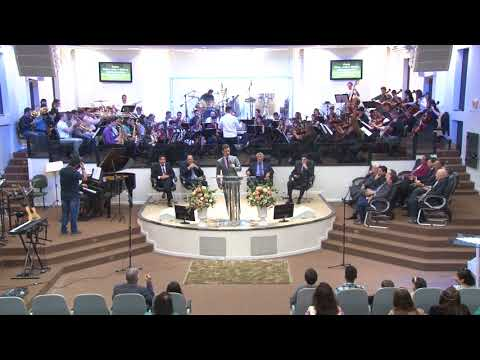 Orquestra Sinfônica Celebração - Harpa Cristã   Nº 73   Vem, vem a mim - 19 08 2018