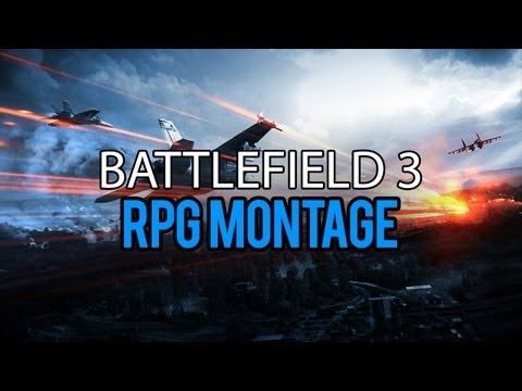 Battlefield 3 EPIC JET/HELI KILLS RPG MONTAGE!