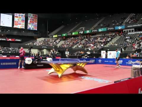 Table Tennis WTTC 2011 Rotterdam Men's Semi Wang Hao Ma Long 7 of 12