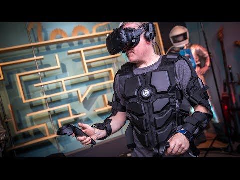 PROJECTIONS, Episode 28: Hardlight VR Haptics Suit! - UCiDJtJKMICpb9B1qf7qjEOA