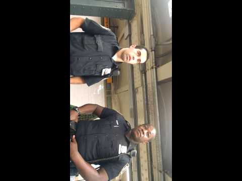(NYPD) Officers get schooled by CPU  8/12/14
