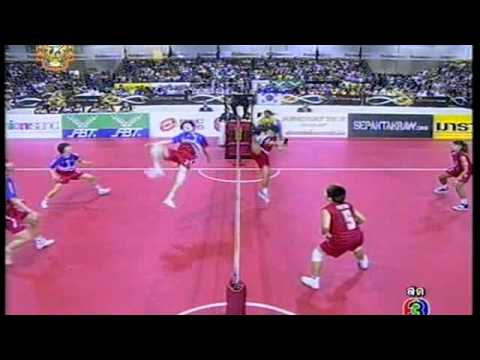 Sepak takraw ISTAF Super Series 2011 Women's Regu Final-Korea vs Thailand (Part1)
