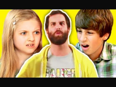 KIDS REACT TO EPIC MEAL TIME