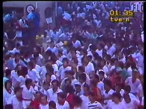 Encierro de San Fermín   10 de julio de 1985