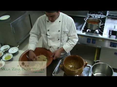 Ricetta Cous Cous (cuscus) Siciliano - San Vito Lo Capo - Villa Zina Park Hotel.mp4