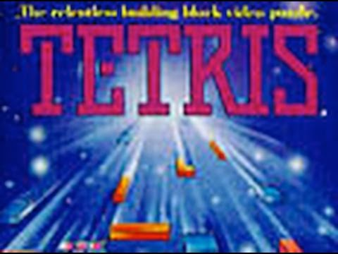 CGR Undertow - TETRIS for NES Video Game Review