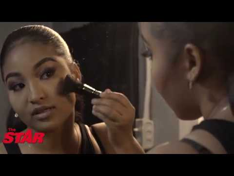 Shenseea gives make-up tutorial