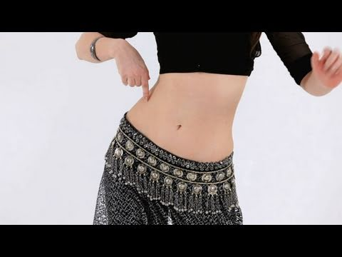 Belly Dance Moves: Reverse Vertical Figure 8s