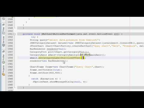 Java prog#86. JFreeChart :Rotate or change angle orientation of Labels JFreeChart
