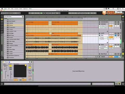 Ableton Tutorial - Modulation Effects - Chorus (Mixing Dance Music pt 4)