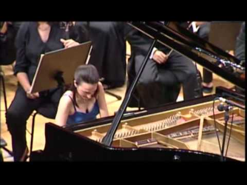 Caroline Calleja plays Schumann Piano Concerto in A minor (1st Movement)