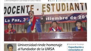 Facultades - Presentacion UMSA