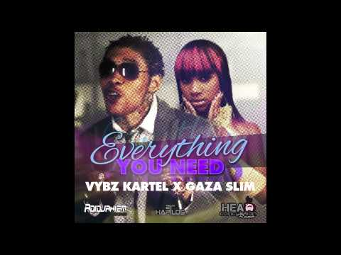 Vybz Kartel feat. Gaza Slim - Everything You Need (Explicit) By RussianHCR NOV. 2012