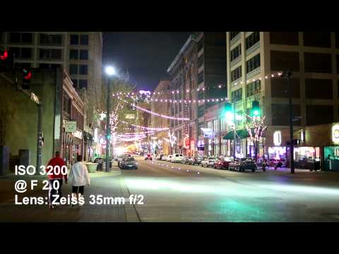 Canon 5D Mark III High ISO Video Test