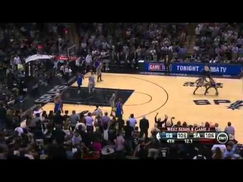 Golden State Warriors Vs San Antonio Spurs - NBA Playoffs 2013 Game 1 - Full Highlights 5/6/13
