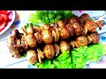 Фрагмент с конца видео Обалденный ШАШЛЫК БЕЗ грамма МЯСА! Вкуснейшие Шампиньоны Без Заморочек! NewChic