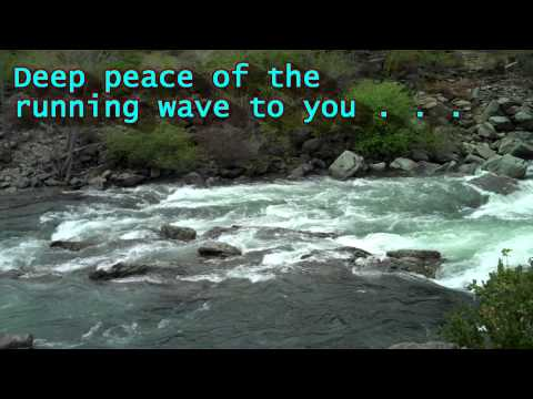 Deep Peace, Bill Douglas; Beautiful Irish Blessing w/ Lyrics