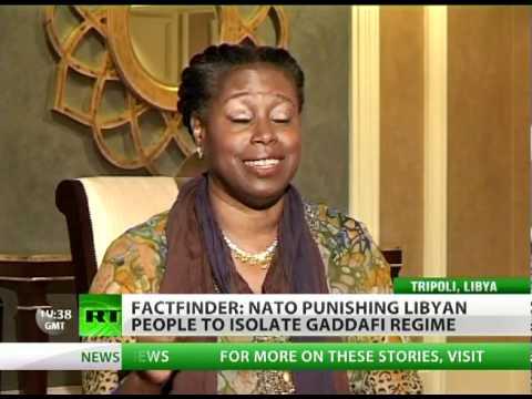 -Libya war driven by O.I.L.: Oil, Israel & Logistics- - McKinney to RT