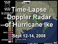 Hurricane Ike - Houston Doppler Radar Time-Lapse
