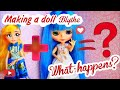 How to make a doll Blythe from Ever After High custom repaint