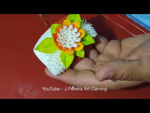 Cách Trình Bày Hoa Từ Trái Cây  – Tập 2