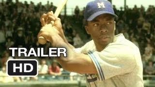 42 Official Trailer (2013) - Harrison Ford Movie - Jackie Robinson Story HD