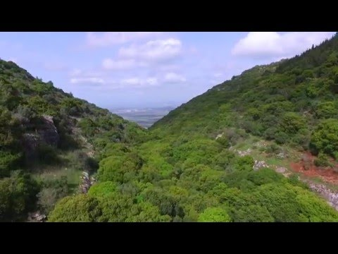 Dji Phantom 3 Proffesional Aeriel Video Carmel Mountains - ISRAEL