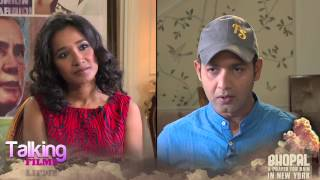Tannishtha Chatterjee exclusive interview on Bhopal A Prayer For Rain Part 1