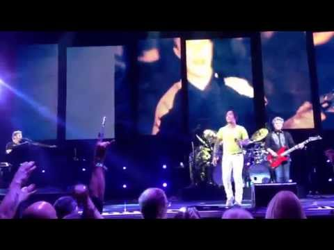Journey concert 2014 live tour with Arnel Pineda - faithfully - phoenix, AZ