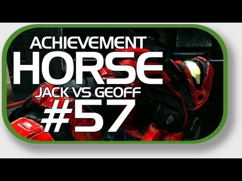 Halo: Reach - Achievement HORSE #57 (Jack vs. Geoff)