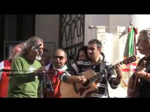 Oristano - Manifestazione Regionale del 25/09/2010 - Esibizione Cordas et Cannas