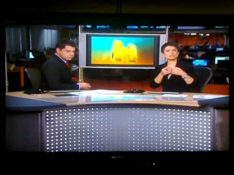 Jornal Hoje - 31/10/2011 - INVASÃO NA REPORTAGEM