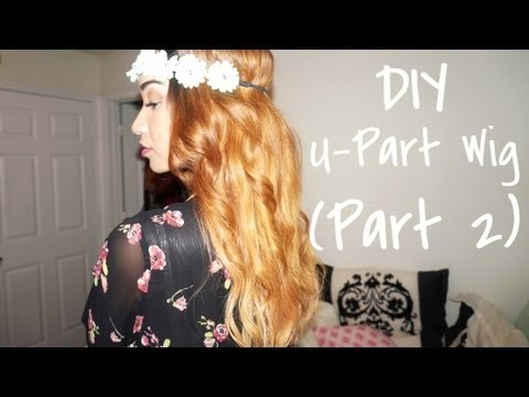 HAIR| Making a U-Part Wig (Part 2)