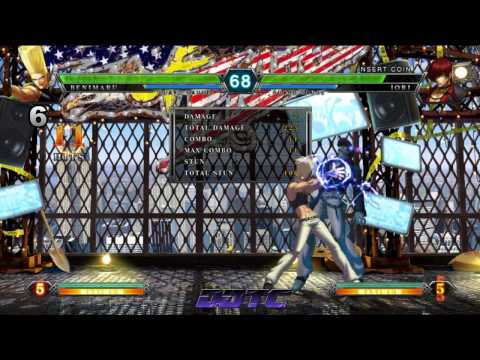 KOF XIII: Benimaru combo tutorial - Benimaru the ladies man