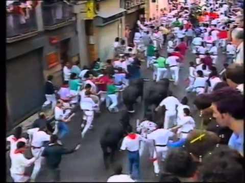 Encierro San Fermín   9 de julio de 1990 480p
