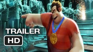 Wreck-It Ralph Official International Trailer (2012) Disney Animated Movie HD