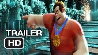 Wreck-It Ralph Official International Trailer (2012) Disney Animated Movie HD