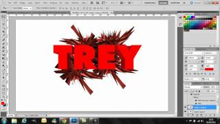 Photoshop CS5 Tutorial: 3D Text and Abstract Background