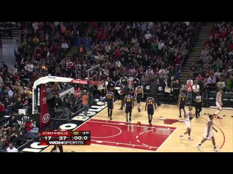 Derrick Rose Highlights vs. Utah Jazz 3/12 720p HD