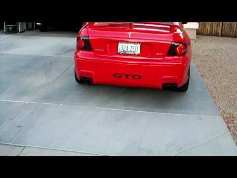 2004 ls1 5.7 Pontiac GTO Cam /w Spintech Exhaust!! Listen to this!