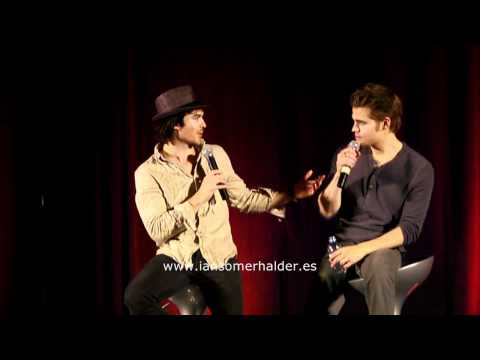 11/06/2011 'Bloody Night Con' (Bcn) Panel Ian & Paul parte 6
