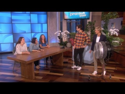 Gets Interrogative at The Ellen Show