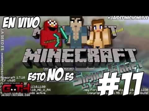 NO es SimiosCraft #11 (ZAPLA CULIA WENA!) en Español - GOTH